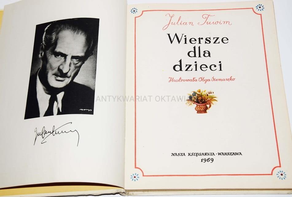 Julian Tuwim Wiersze Dla Dzieci 1969r Ilustr O Siemaszko